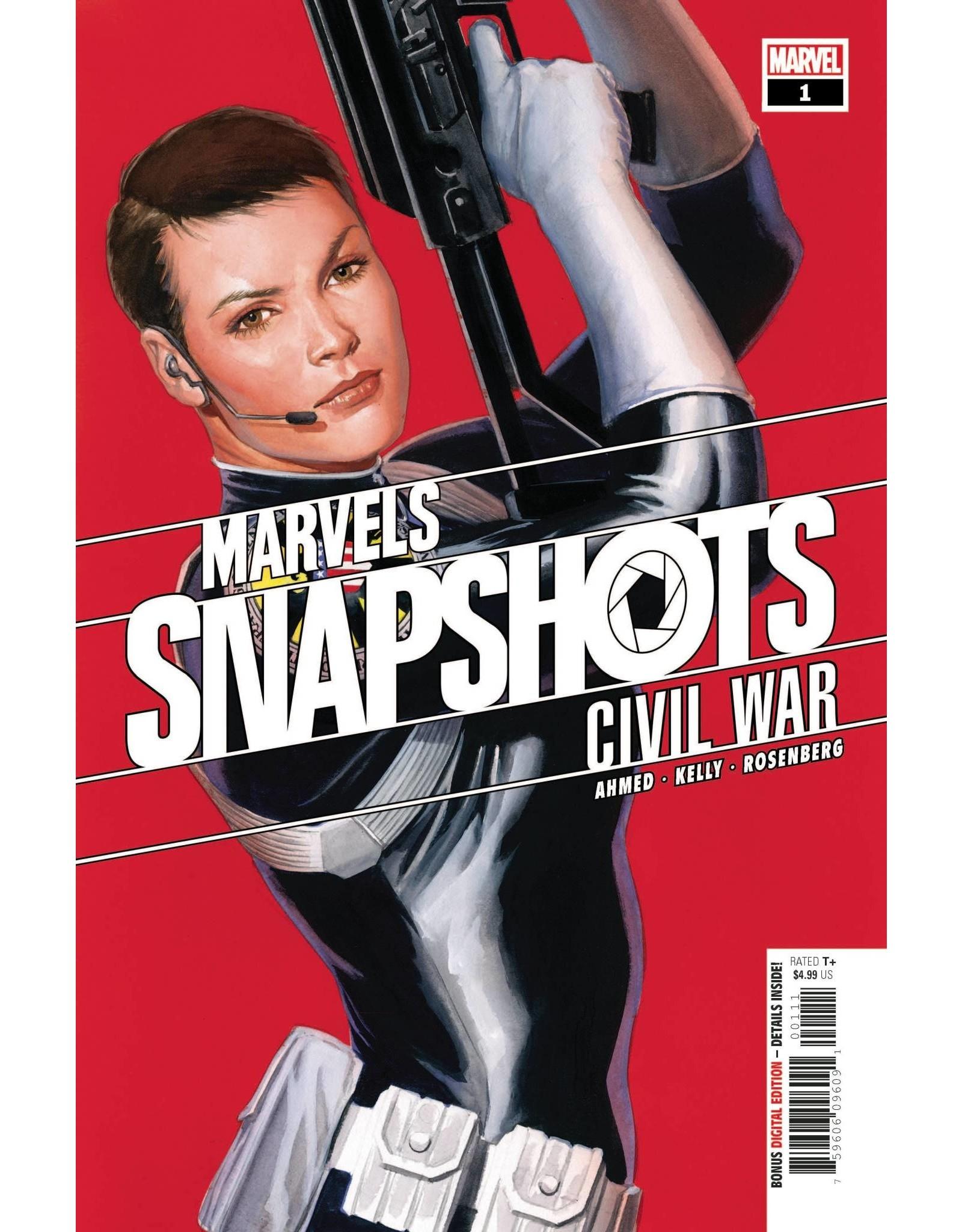 MARVEL COMICS CIVIL WAR MARVELS SNAPSHOTS #1