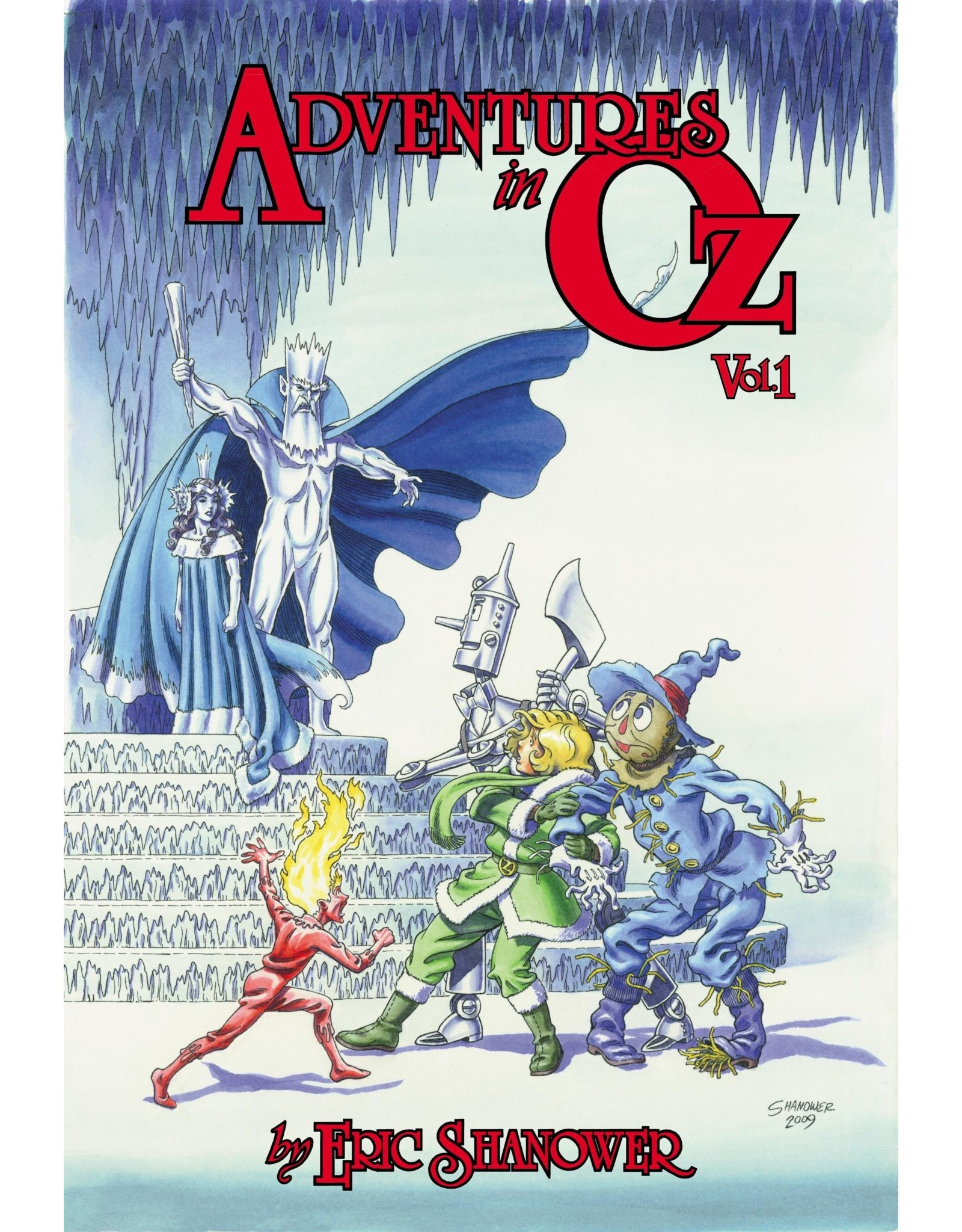 IDW PUBLISHING LITTLE ADVENTURES IN OZ BOOK 01