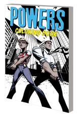MARVEL COMICS POWERS COLORING BOOK TP