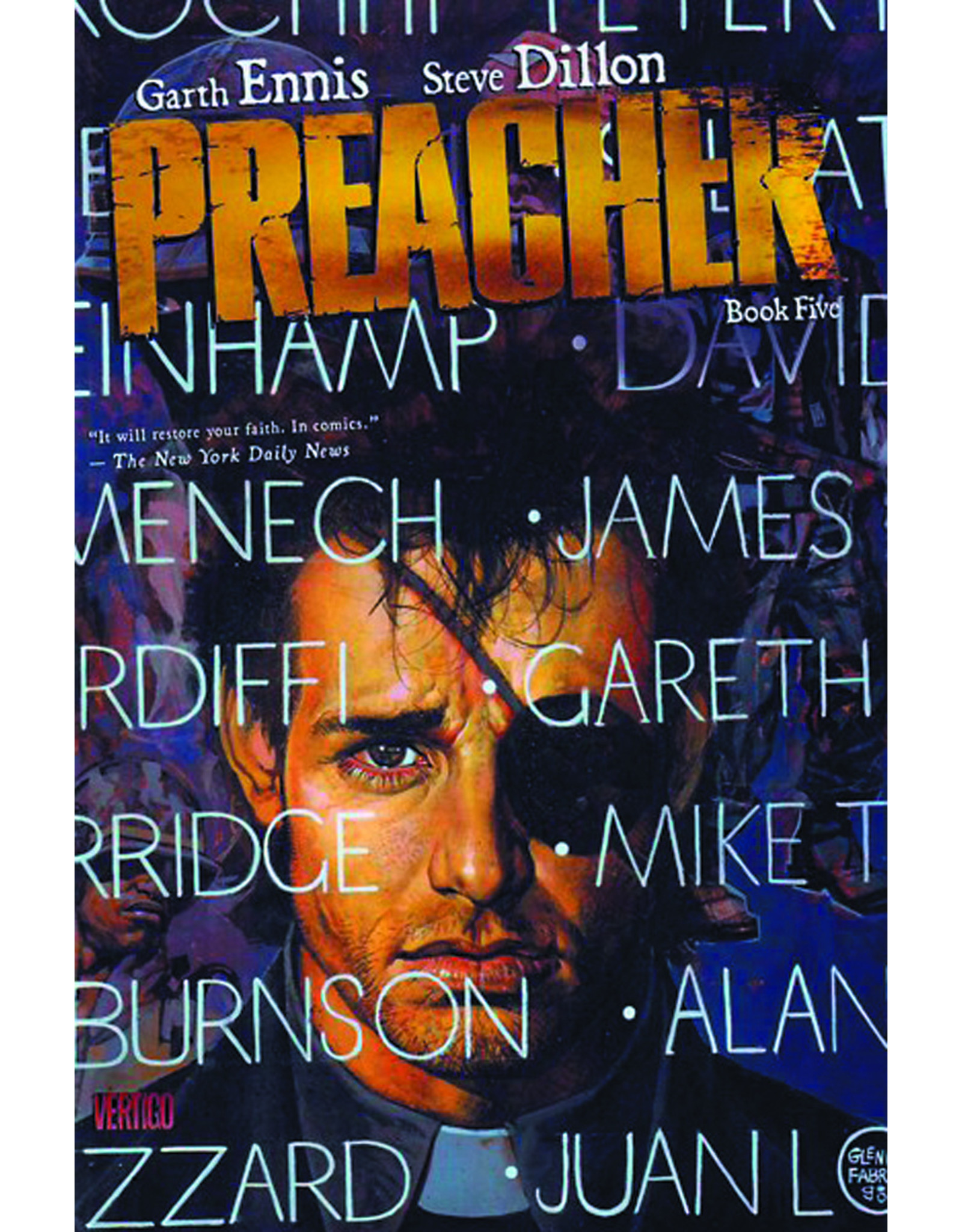 DC COMICS PREACHER HC BOOK 05