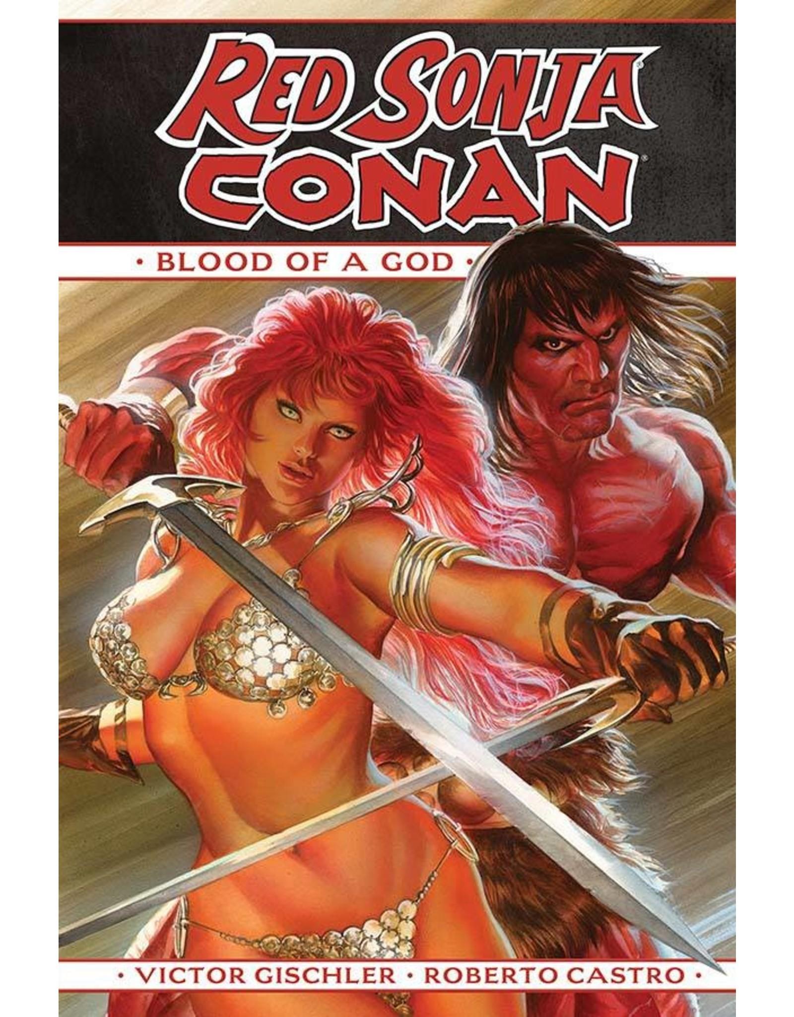 D. E. RED SONJA CONAN BLOOD OF A GOD HC