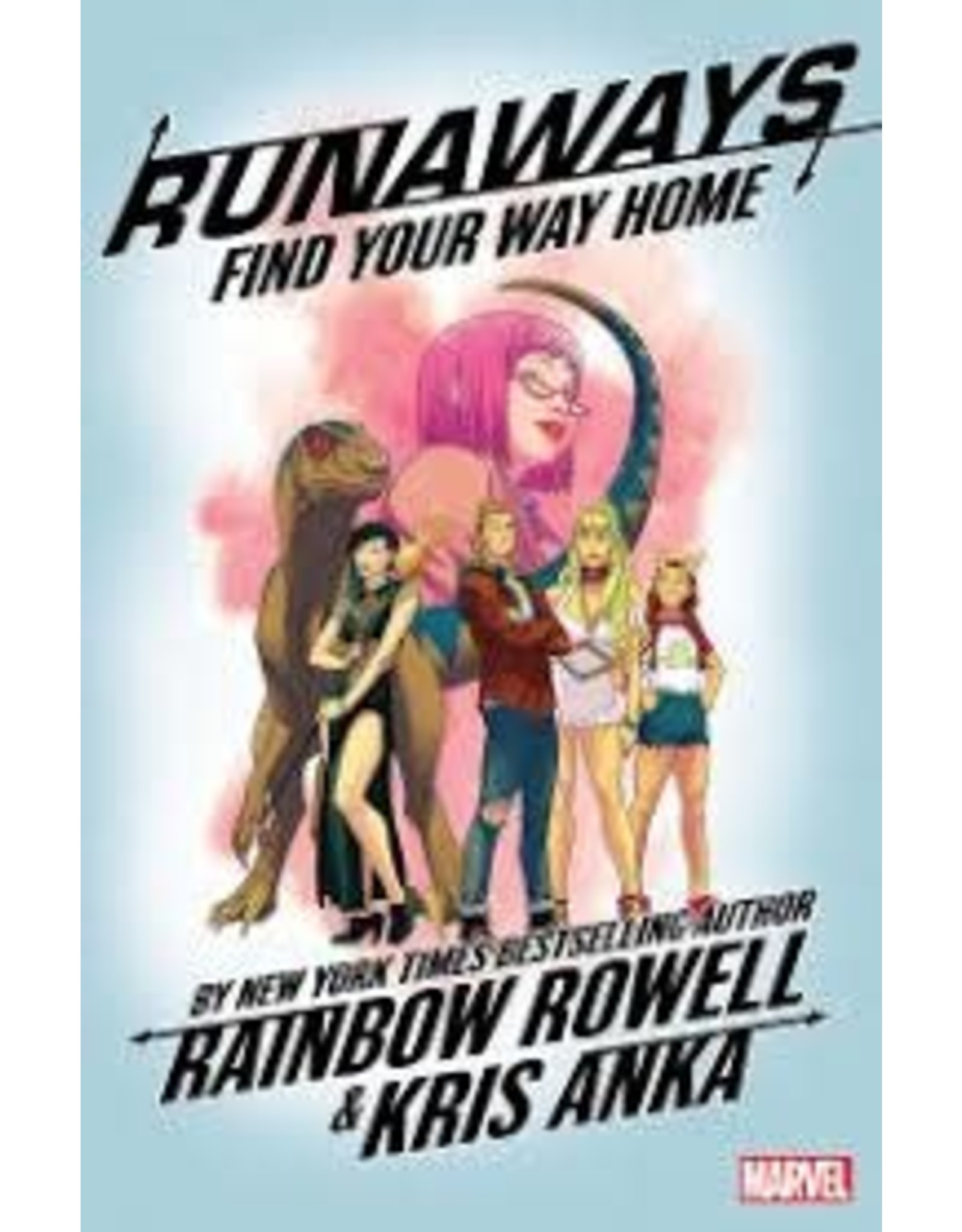 MARVEL COMICS RUNAWAYS BY RAINBOW ROWELL TP VOL 01 FIND YOUR WAY HOME