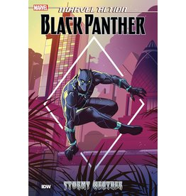 IDW PUBLISHING MARVEL ACTION BLACK PANTHER TP BOOK 01 STORMY WEATHER
