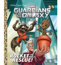 RANDOM HOUSE BOOKS FOR YOUNG R GUARDIANS OF GALAXY ROCKET TO RESCUE LITTLE GOLDEN BOOK