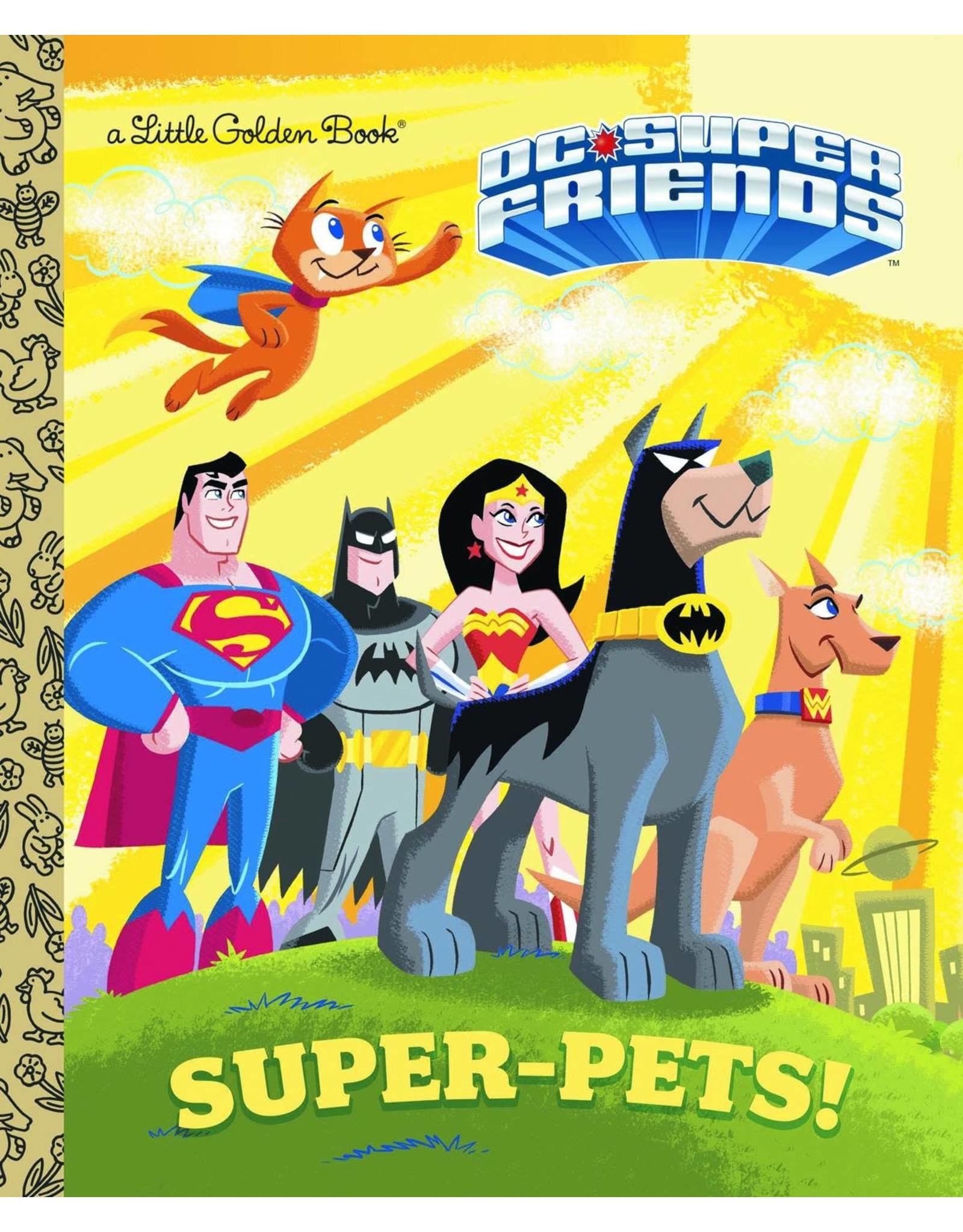 DC SUPER FRIENDS SUPER PETS LITTLE GOLDEN BOOK