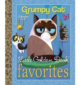 Penguin Random House GRUMPY CAT FAVORITES LITTLE GOLDEN BOOK