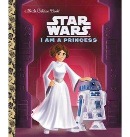 Penguin Random House STAR WARS I AM A PRINCESS LITTLE GOLDEN BOOK