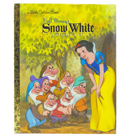Penguin Random House WALT DISNEY'S SNOW WHITE AND THE SEVEN DWARFS LITTLE GOLDEN BOOK