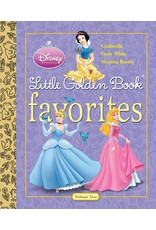 Penguin Random House DISNEY PRINCESS FAVORITES VOLUME 2 LITTLE GOLDEN BOOK