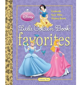 Penguin Random House DISNEY PRINCESS FAVORITES VOLUME 2 LITTLE GOLDEN BOOK