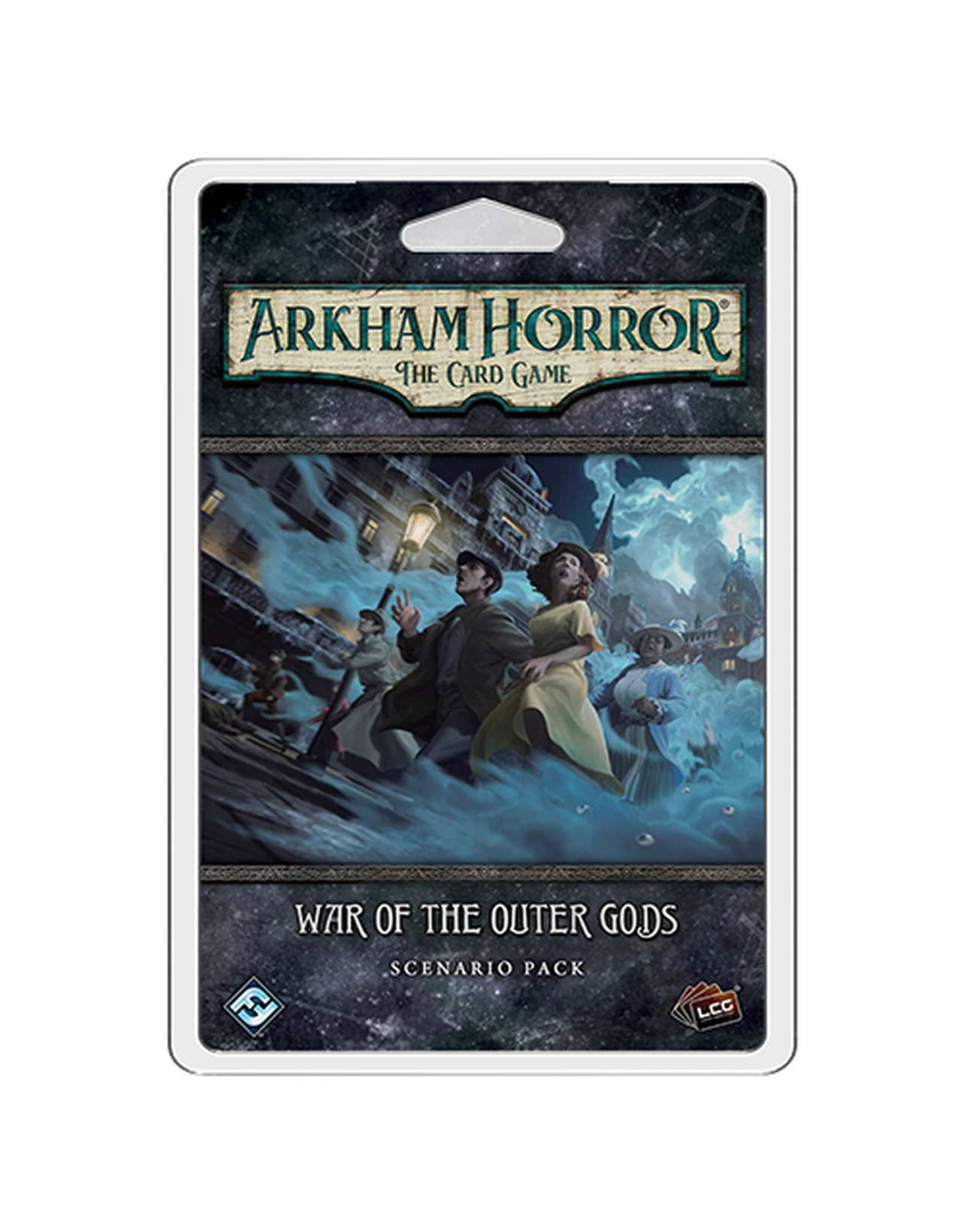 FANTASY FLIGHT GAMES ARKHAM HORROR LCG WAR OF THE OUTER GODS SCENARIO PACK