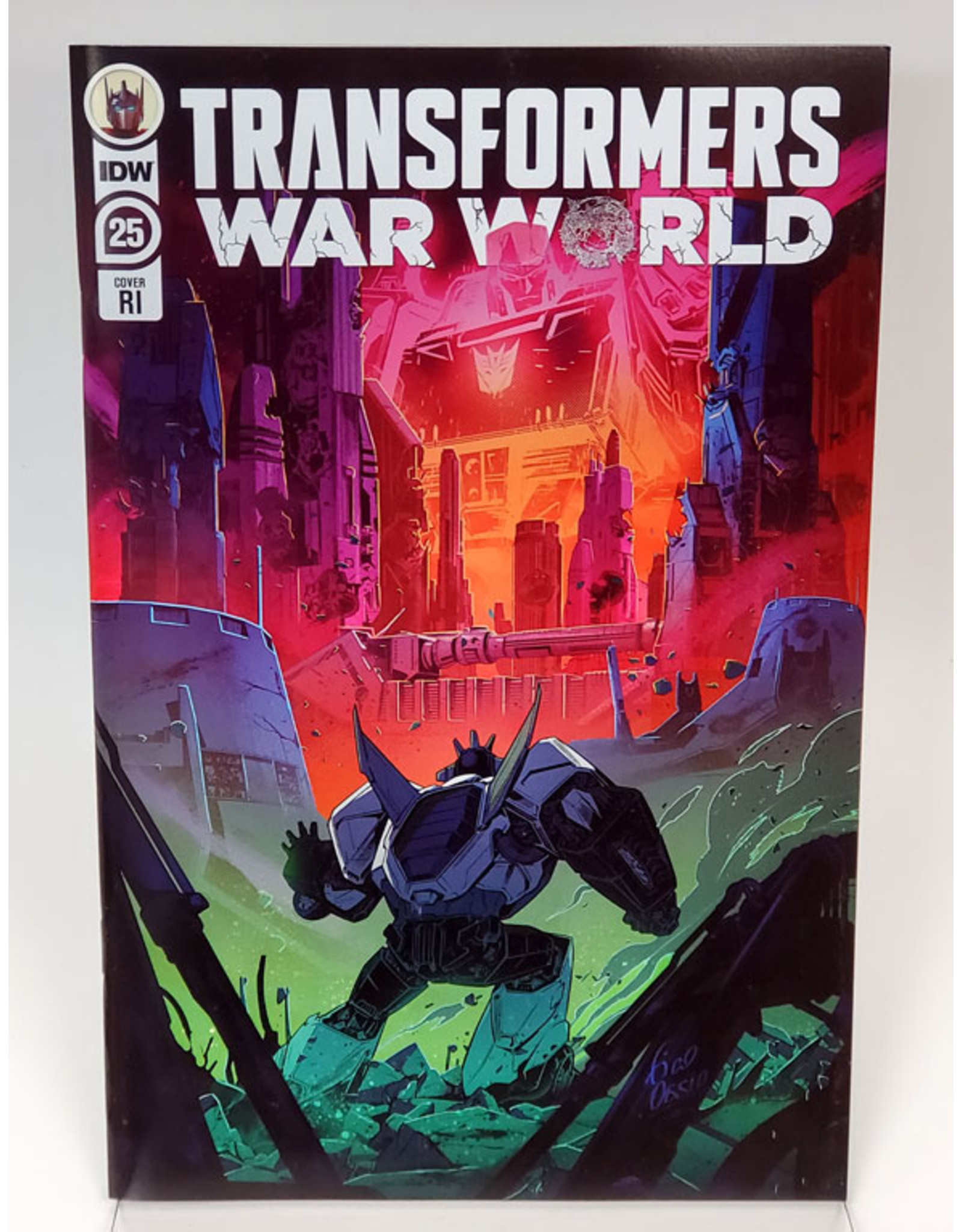 IDW PUBLISHING TRANSFORMERS #25 1:10 INCENTIVE OSSIO