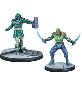 MARVEL CRISIS PROTOCOL: DRAX & RONAN THE ACCUSER CHARACTER PACK