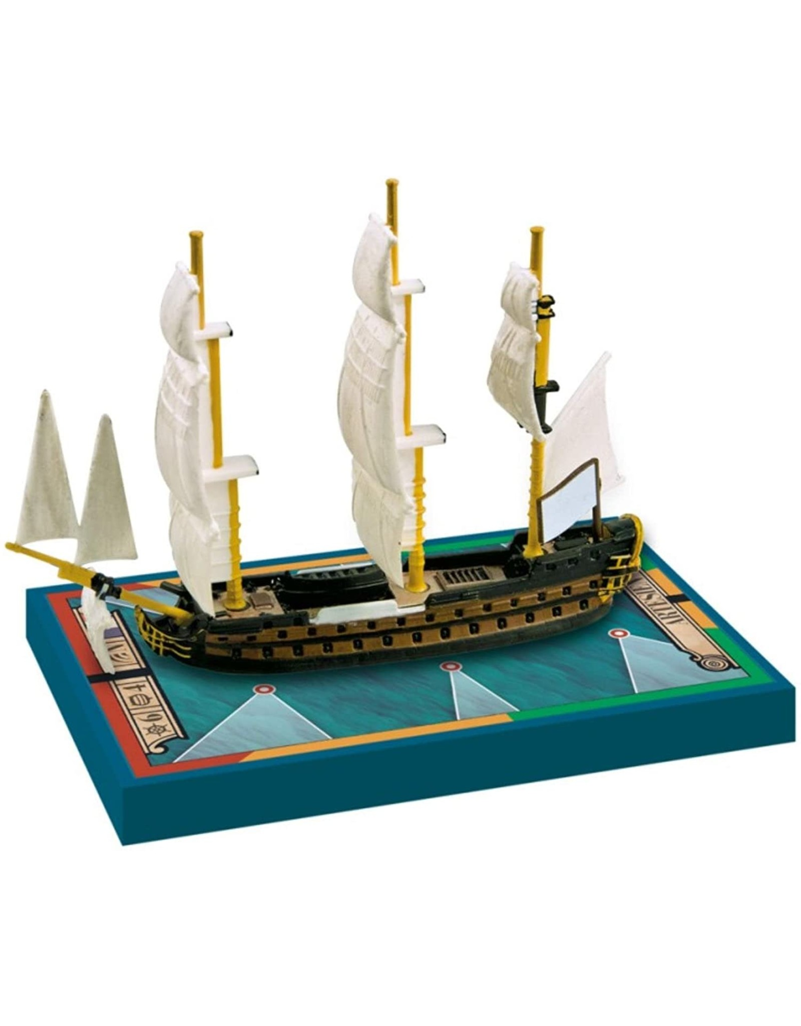 ARES GAMES SAILS OF GLORY ARTESIEN 1765 ROLAND 1771 SHIP PACK