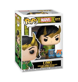 FUNKO FCBD 2020 POP MARVEL LOKI PX VINYL FIG