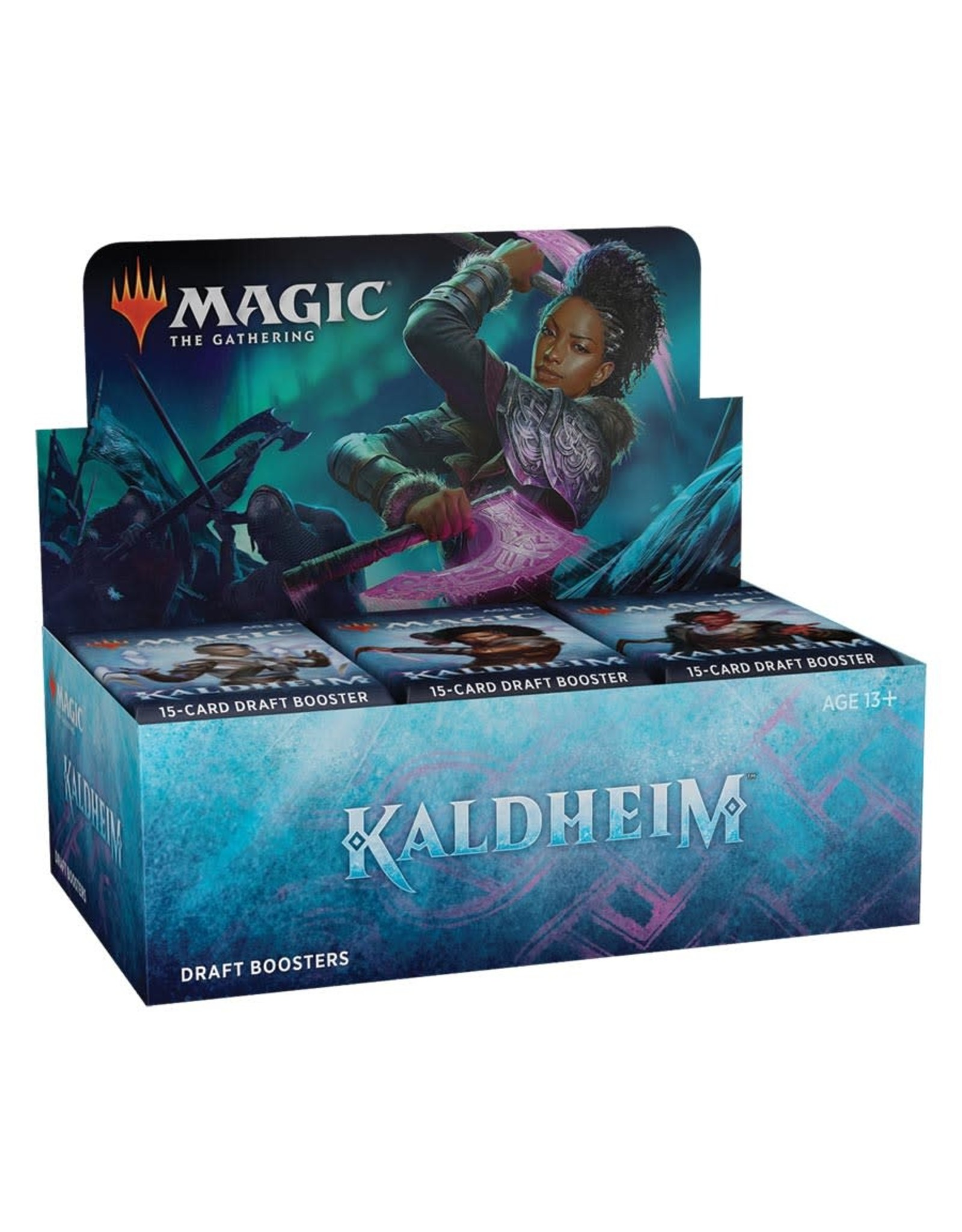 WIZARDS OF THE COAST MAGIC THE GATHERING KALDHEIM DRAFT BOOSTER BOX