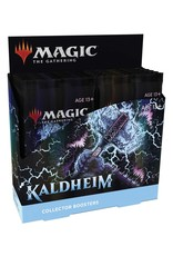 WIZARDS OF THE COAST MAGIC THE GATHERING KALDHEIM COLLECTOR'S BOOSTER BOX