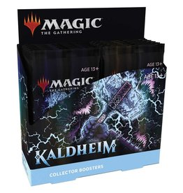 WIZARDS OF THE COAST KALDHEIM COLLECTOR'S BOOSTER BOX