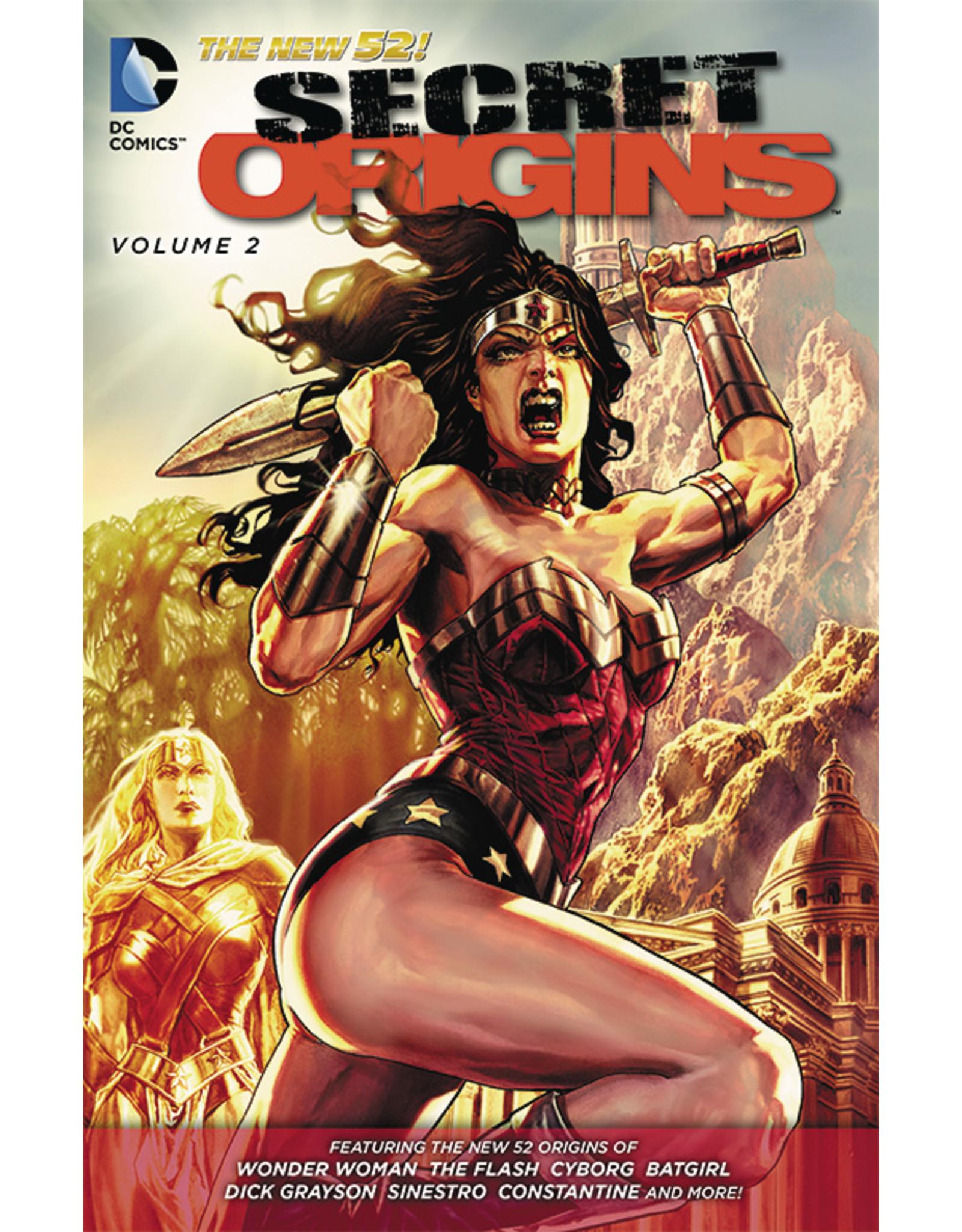 DC COMICS SECRET ORIGINS TP VOL 02