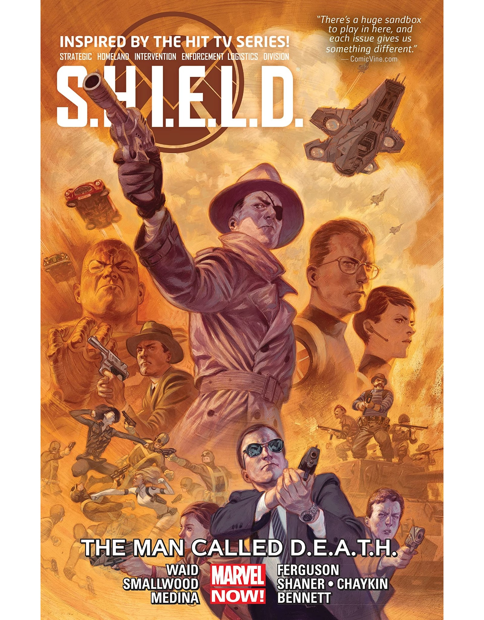 MARVEL COMICS SHIELD TP VOL 02 MAN CALLED DEATH