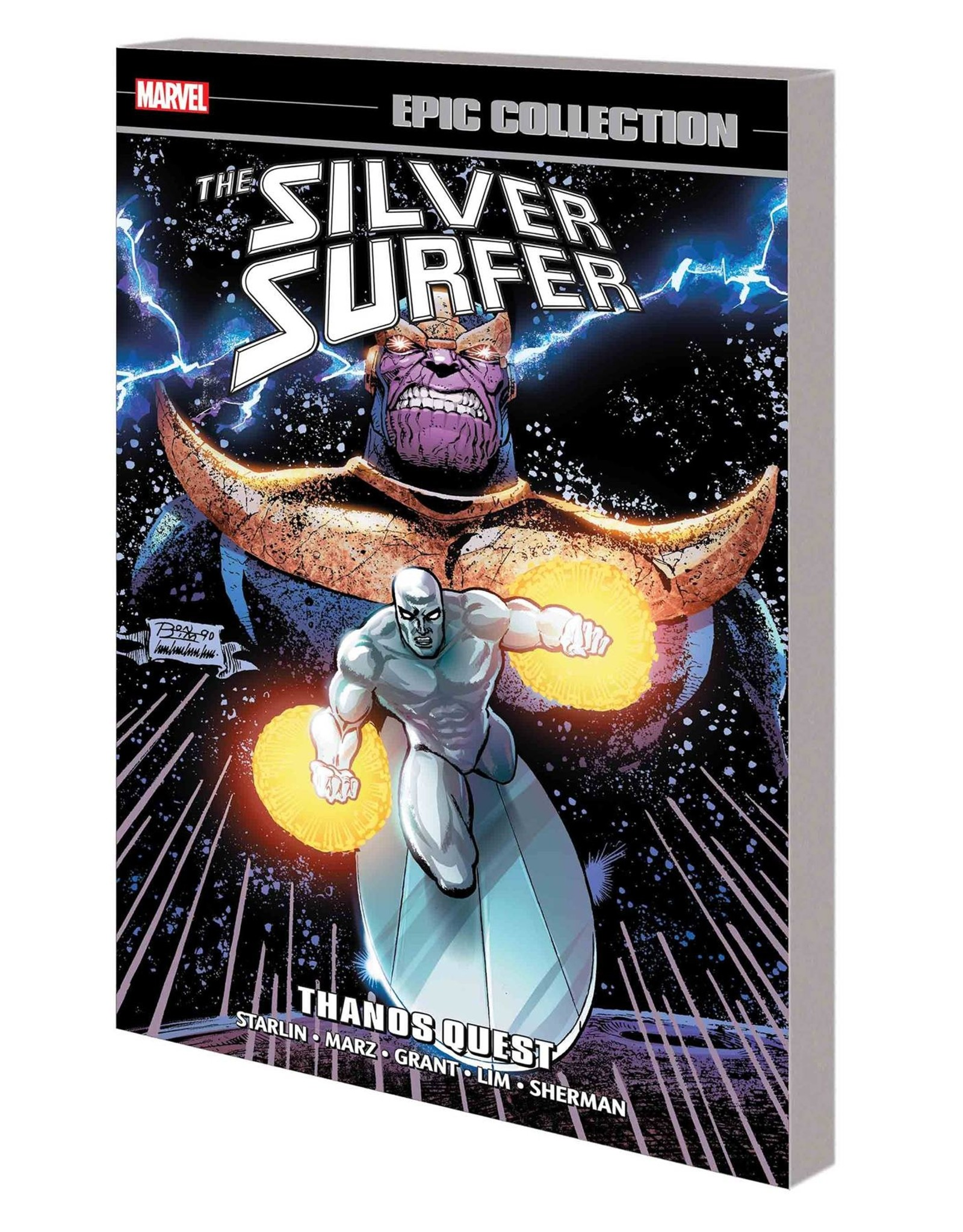 MARVEL COMICS SILVER SURFER EPIC COLLECTION TP THANOS QUEST