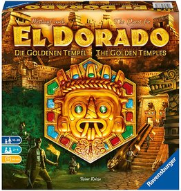 RAVENSBURGER THE QUEST FOR EL DORADO: THE GOLDEN TEMPLES