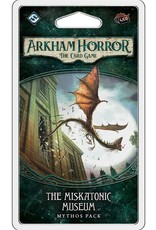 FANTASY FLIGHT GAMES ARKHAM HORROR LCG MISKATONIC MUSEUM MYTHOS PACK