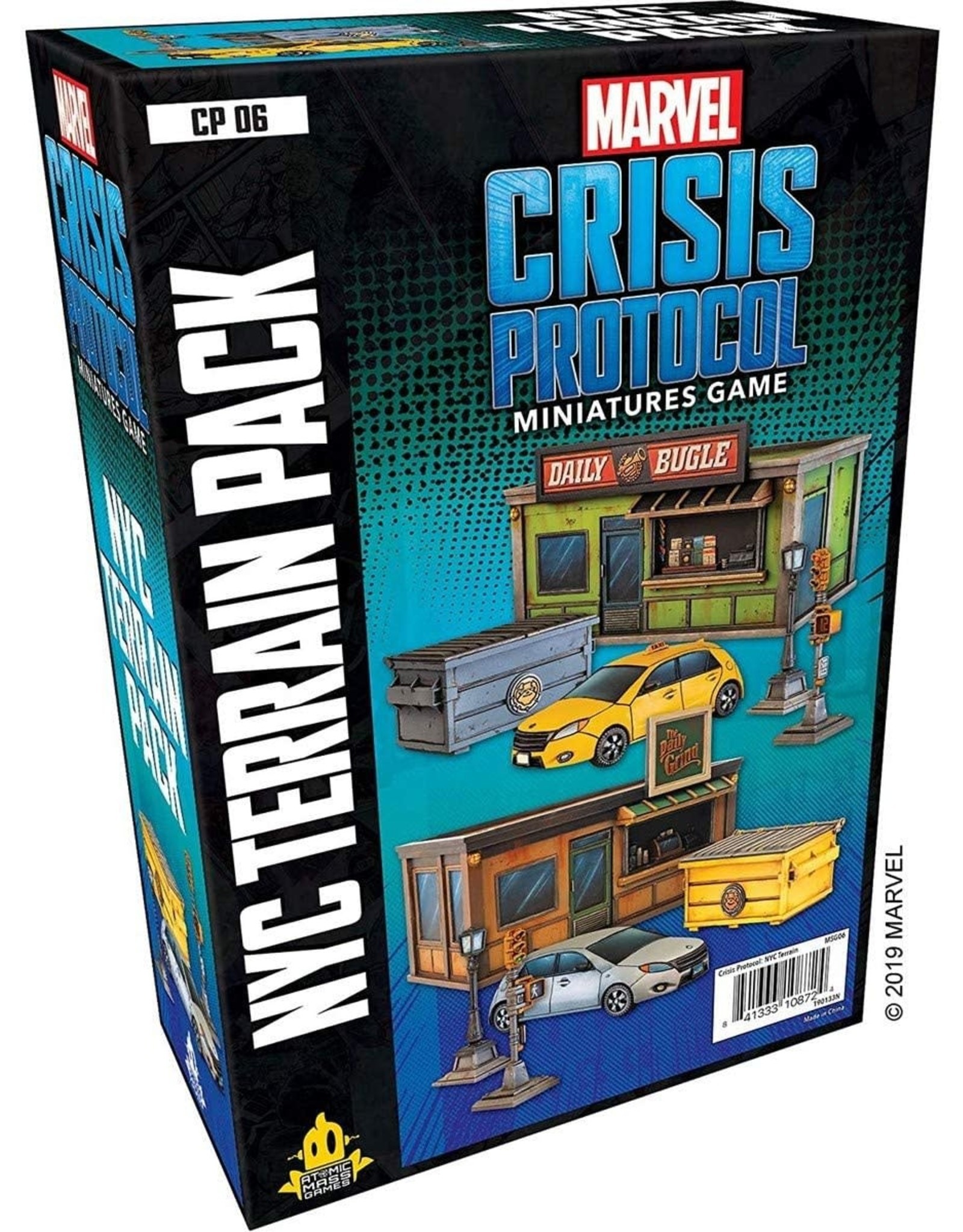 MARVEL: CRISIS PROTOCOL NYC TERRAIN PACK