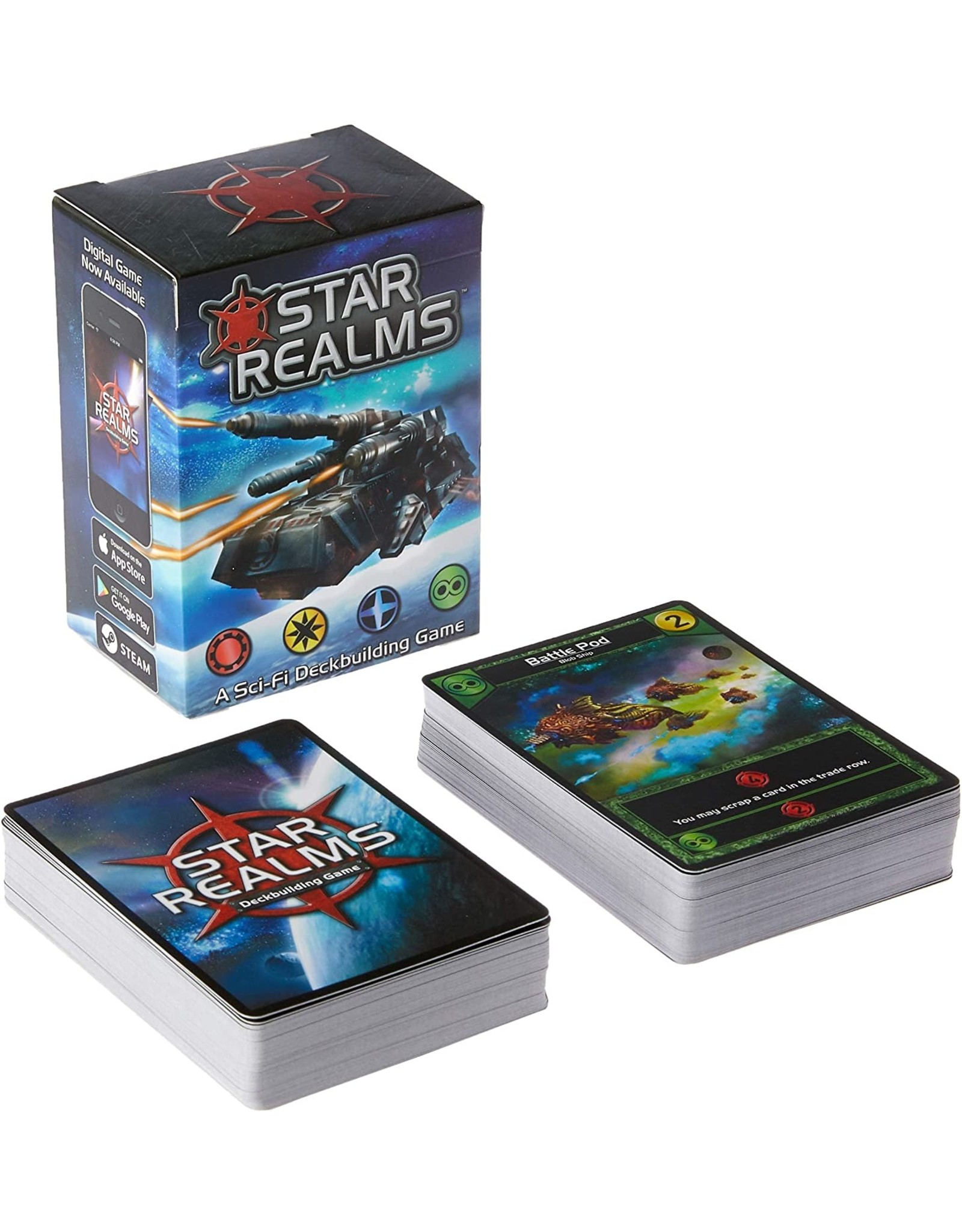 White Wizard Games STAR REALMS: BASE GAME