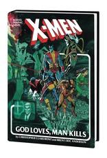 MARVEL COMICS X-MEN GOD LOVES MAN KILLS EXTENDED CUT GALLERY EDITION HC