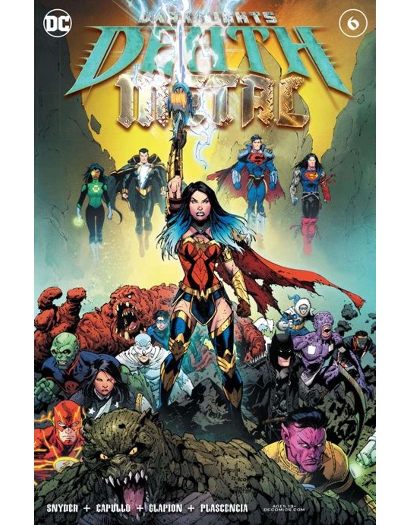 DC COMICS DARK NIGHTS DEATH METAL #6 (OF 7) CVR A GREG CAPULLO FOIL EMBOSSED