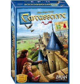 Z-MAN GAMES INC CARCASSONNE NEW EDITION