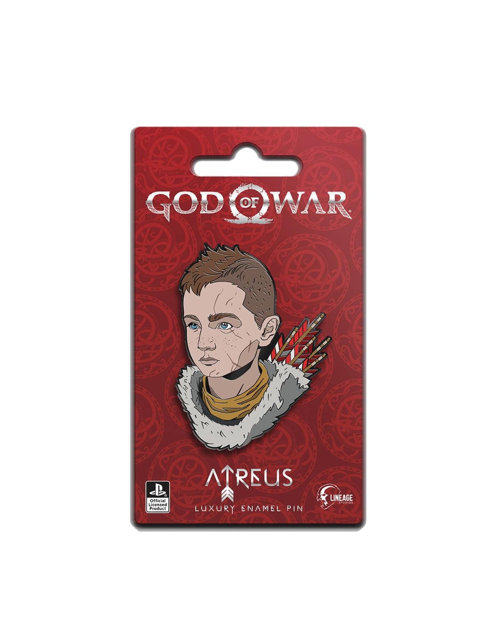 GOD OF WAR ATREUS ICON PIN