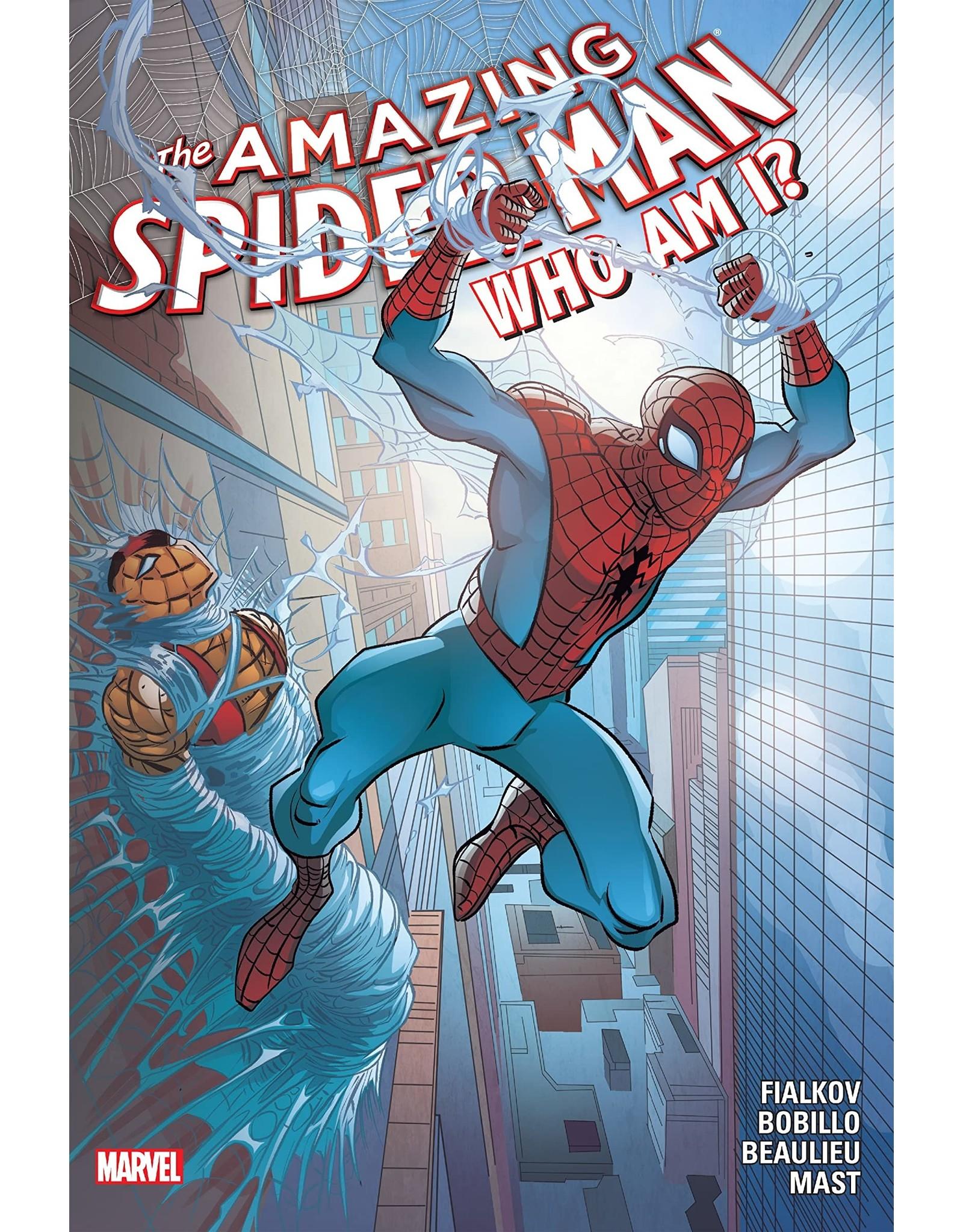 MARVEL COMICS AMAZING SPIDER-MAN HC WHO AM I