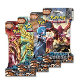 POKEMON COMPANY INTERNATIONAL POKEMON TCG STEAM SIEGE SLEEVED BOOSTER