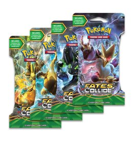 POKEMON COMPANY INTERNATIONAL POKEMON TCG FATES COLLIDE SLEEVED BOOSTER