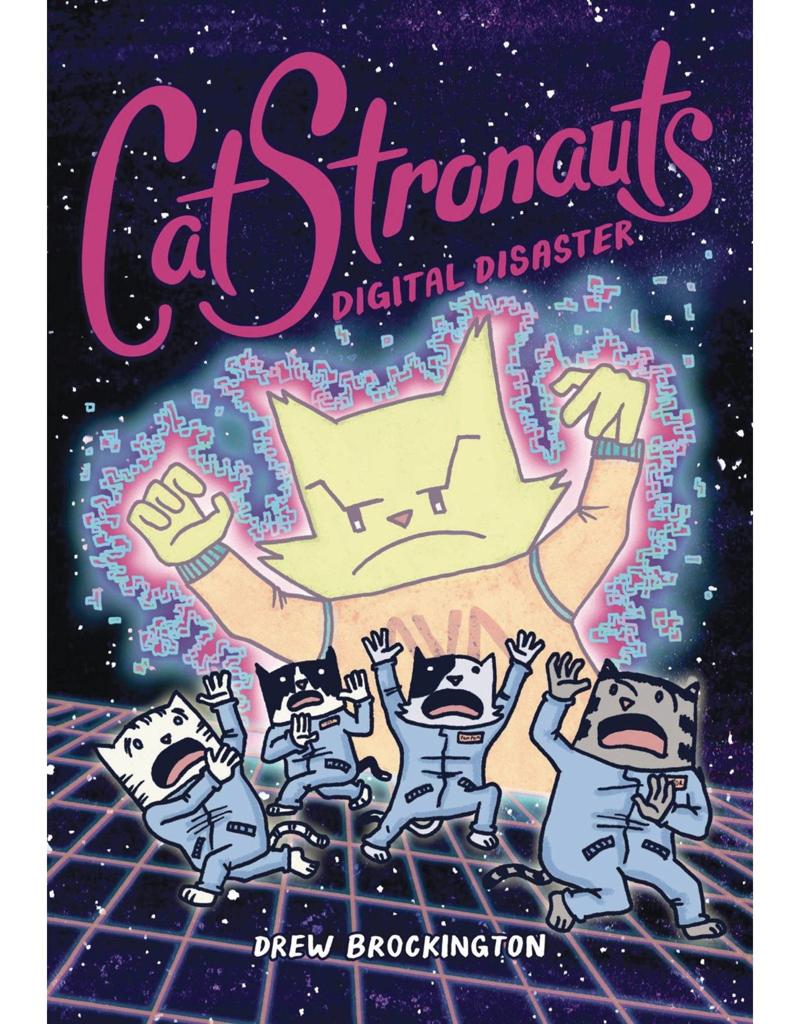 LITTLE BROWN BOOK FOR YOUNG RE CATSTRONAUTS YR GN VOL 06 DIGITAL DISASTER