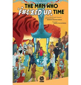 AFTERSHOCK COMICS MAN WHO EFFED UP TIME TP
