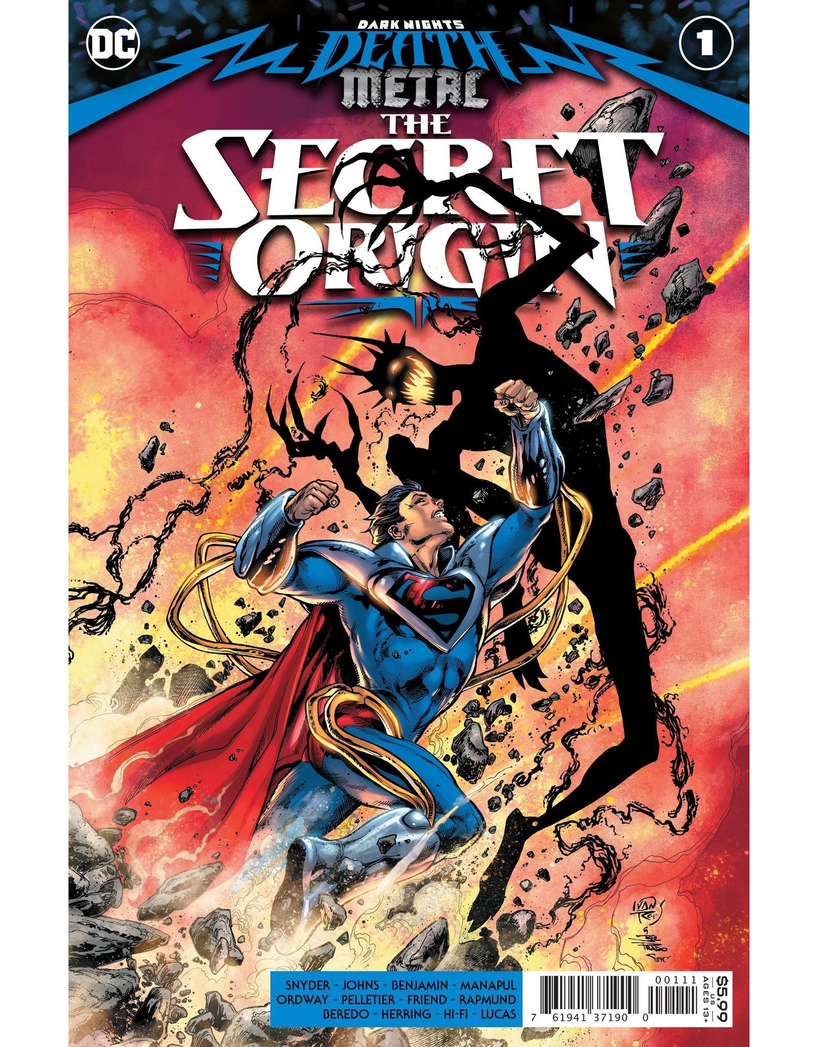 DC COMICS DARK NIGHTS DEATH METAL THE SECRET ORIGIN #1 (ONE SHOT) CVR A IVAN REIS & JOE PRADO
