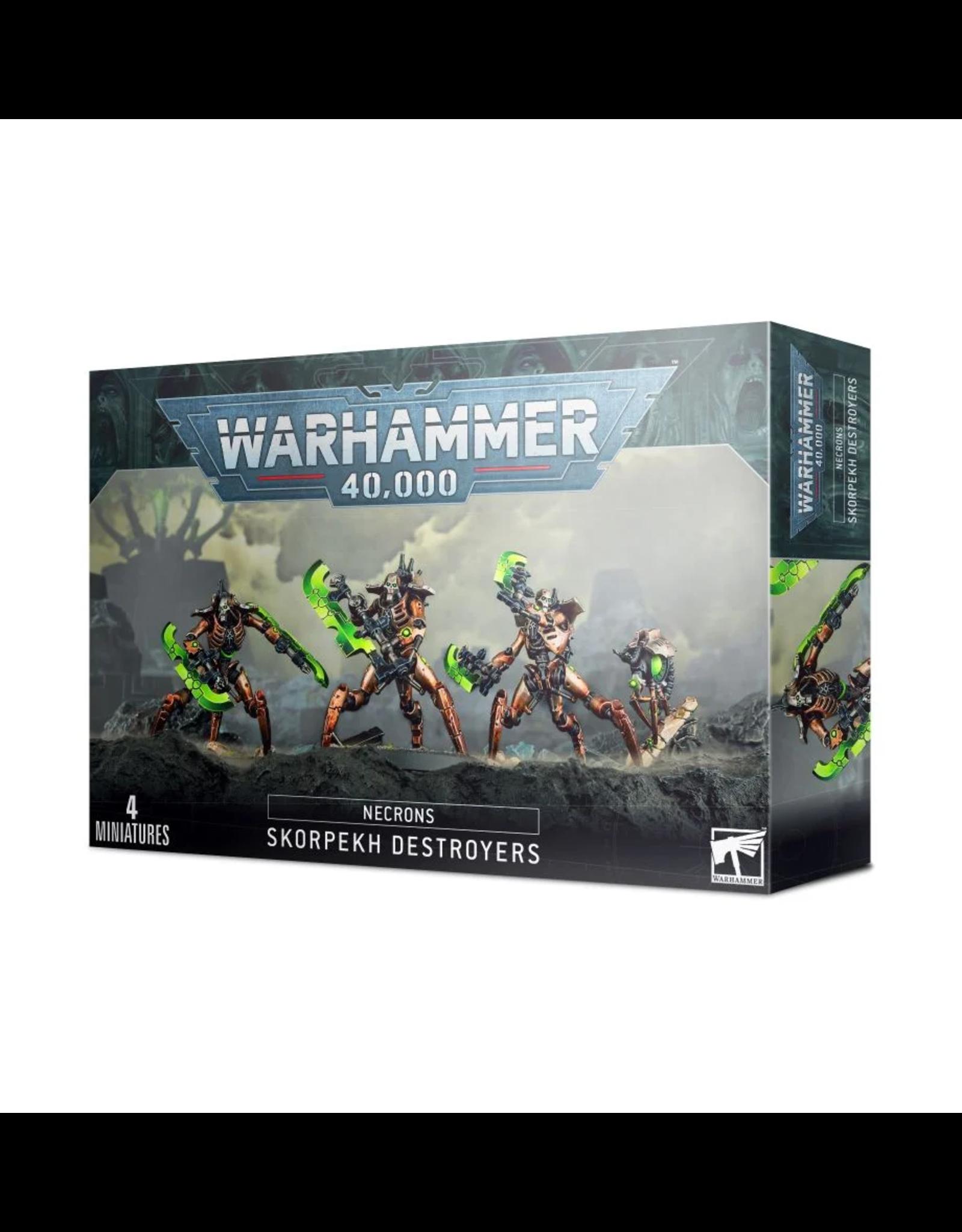 GAMES WORKSHOP WARHAMMER 40K NECRONS: SKORPEKH DESTROYERS