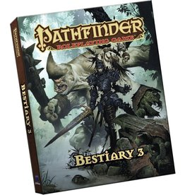 PAIZO PATHFINDER RPG BESTIARY 3 POCKET EDITION