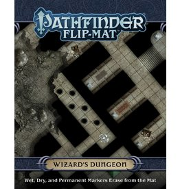 PAIZO PUBLISHING PATHFINDER FLIP-MAT WIZARDS DUNGEON