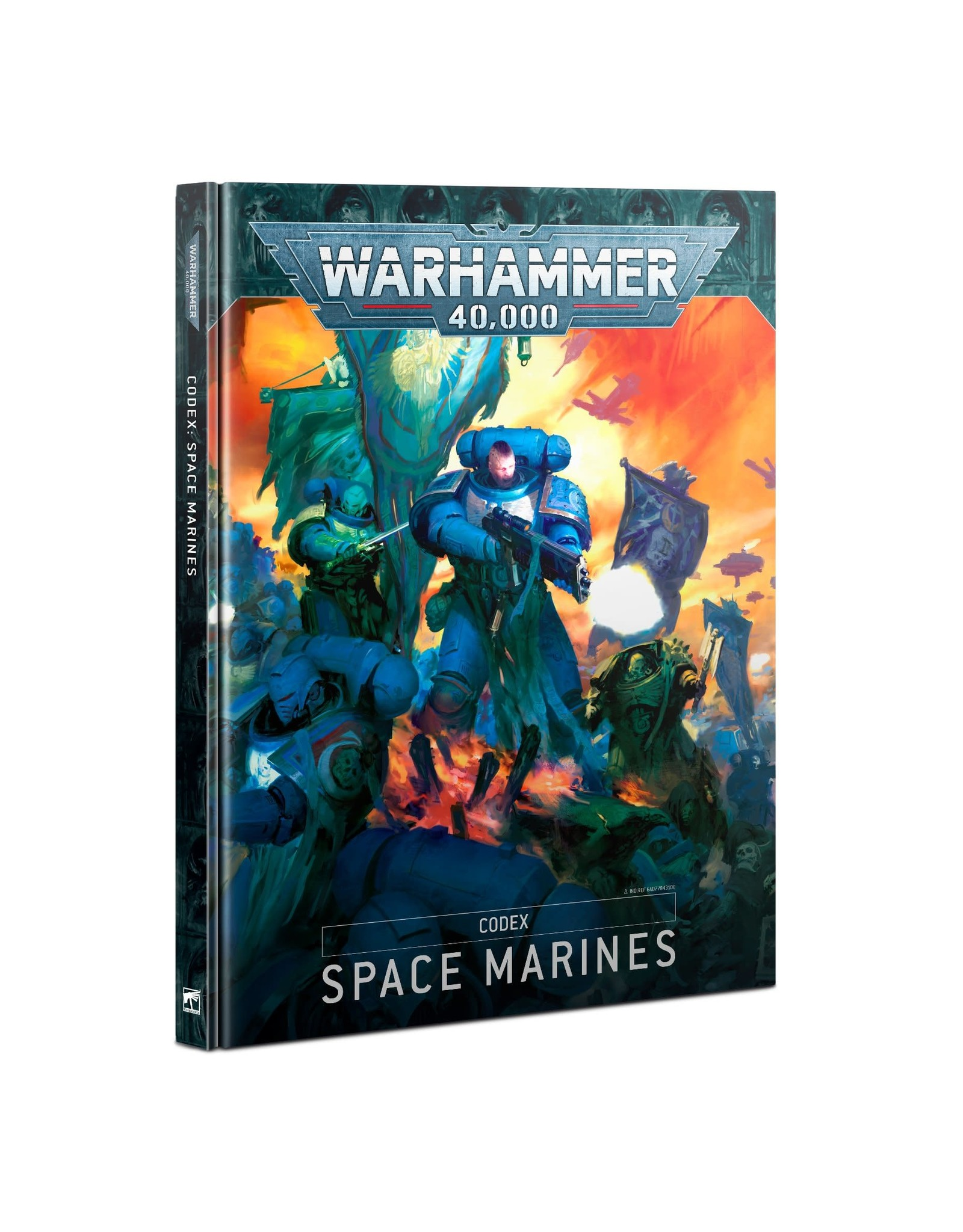 GAMES WORKSHOP WARHAMMER 40K 9TH ED CODEX: SPACE MARINES
