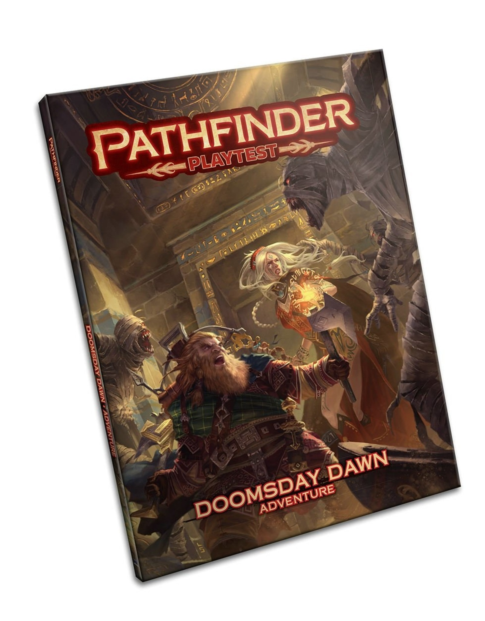 PAIZO PATHFINDER PLAYTEST ADVENTURE DOOMDAY DAWN