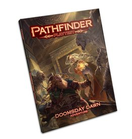 PAIZO PATHFINDER PLAYTEST ADVENTURE DOOMDAY DAWN