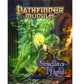 PAIZO PATHFINDER RPG MODULE CRADLE OF NIGHT