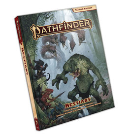 PAIZO PUBLISHING PATHFINDER SECOND EDITION BESTIARY