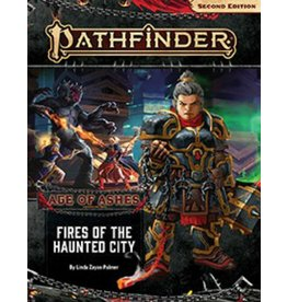 PAIZO PUBLISHING PATHFINDER ADVENTURE PATH FIRES OF THE HAUNTED CITY