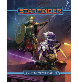 PAIZO PUBLISHING STARFINDER RPG ALIEN ARCHIVE 3 HC