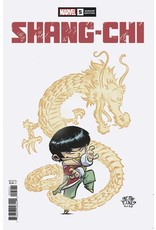 MARVEL COMICS AUTHOR SIGNED SHANG-CHI #5 (OF 5) YOUNG VAR PRE-ORDER